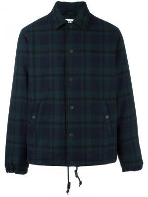 Куртка Coach Edwin. Цвет: зелёный