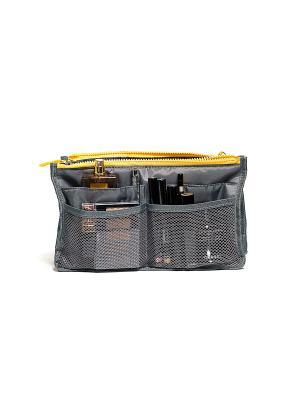 Органайзер для сумки, серый Homsu. Цвет: серый