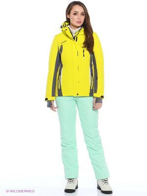 Куртка High Experience. Цвет: желтый
