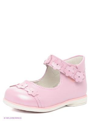 Туфли Детский скороход. Цвет: розовый