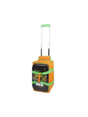 Детская спортивная сумка на колесиках, серия Disney, мультфильм История Игрушек Heys USA. Цвет: оранжевый