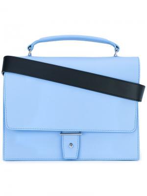 Foldover satchel Pb 0110. Цвет: синий
