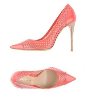 Туфли DEIMILLE. Цвет: коралловый