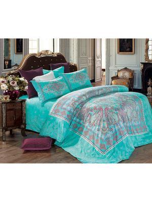 Постельное белье Diva Afrodita. Цвет: голубой