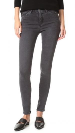 Облегающие джинсы-скинни M.i.h Jeans. Цвет: золотой