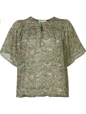 Блузка Glory Vanessa Bruno. Цвет: зелёный