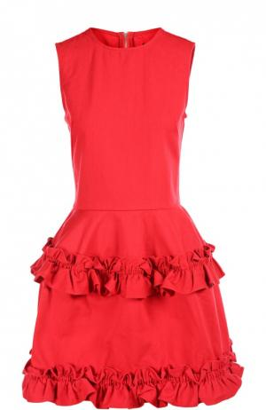 Джинсовое платье Simone Rocha J Brand. Цвет: красный