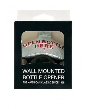 Настенная открывалка для бутылок Подарки. Цвет: черный
