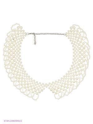 Колье Lovely Jewelry. Цвет: белый