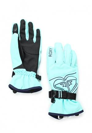 Перчатки горнолыжные Roxy. Цвет: мятный