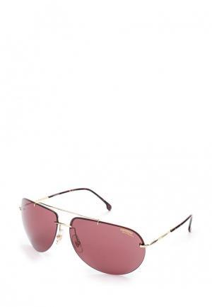 Очки солнцезащитные Carrera. Цвет: бордовый