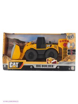 Машина Toystate cat. Экскаватор. Цвет: желтый, черный