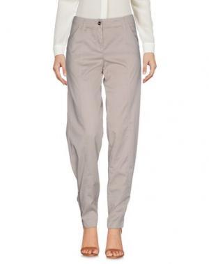 Повседневные брюки WHO*S WHO. Цвет: бежевый
