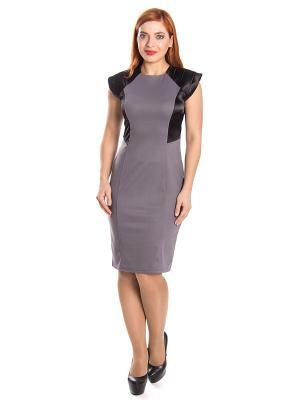 Платье Lautus. Цвет: лиловый