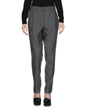 Повседневные брюки MARELLA. Цвет: свинцово-серый
