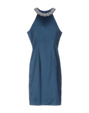 Платье до колена VENUS. Цвет: цвет морской волны