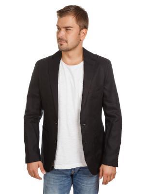 Пиджак льяняной McNeal. Цвет: черный