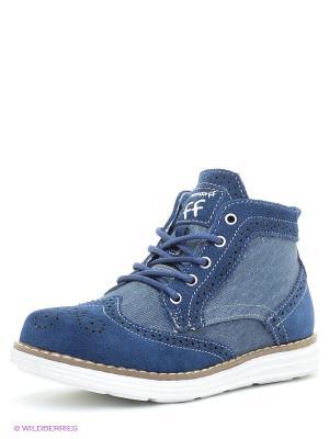 Ботинки Bebendorff. Цвет: синий