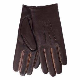 Перчатки  JULIE/MULTI/W темно-фиолетовый AGNELLE