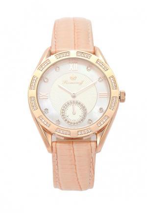 Часы Romanoff. Цвет: розовый