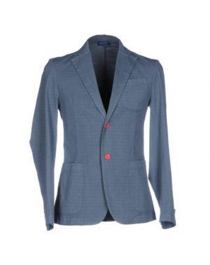 Пиджак DIMATTIA. Цвет: грифельно-синий
