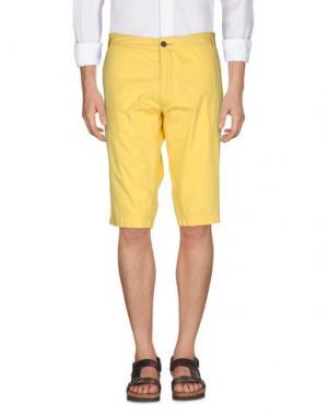 Бермуды GANESH. Цвет: желтый