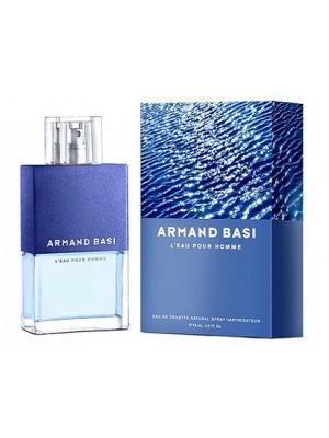 Leau pour homme, Туалетная вода, 75 мл Armand Basi. Цвет: синий