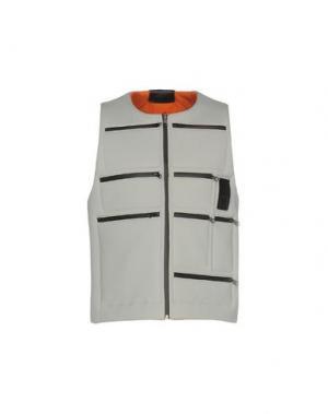 Куртка LETASCA. Цвет: светло-серый