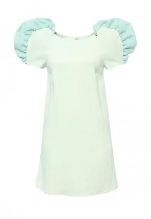 Платье Elisabetta Franchi. Цвет: зеленый