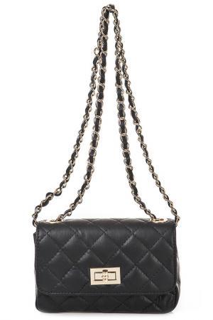 Сумка FLORENCE BAGS. Цвет: black