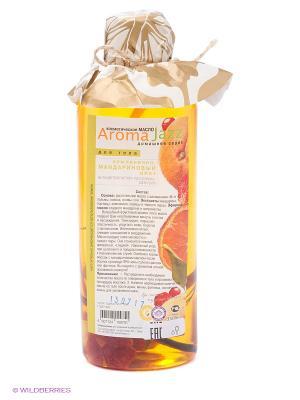 Масло жидкое для тела Землянично-мандариновый джаз, 350 мл АРОМАДЖАЗ. Цвет: оранжевый
