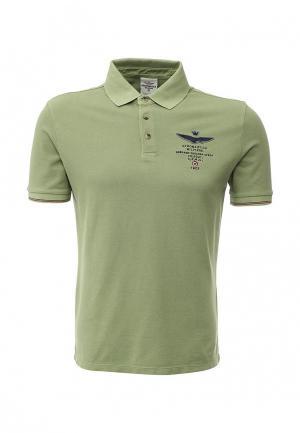 Поло Aeronautica Militare. Цвет: зеленый