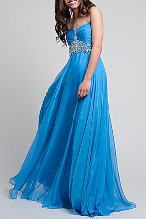 Dress YASMIN. Цвет: голубой