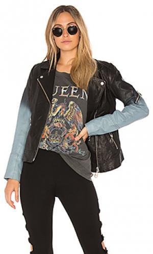 Куртка ombre moto DOMA. Цвет: черный