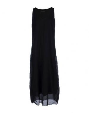 Длинное платье EUROPEAN CULTURE. Цвет: черный