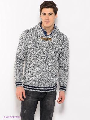 Пуловер Alcott. Цвет: темно-синий, белый