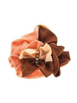 Резинка для волос Migura. Цвет: коричневый,оранжевый