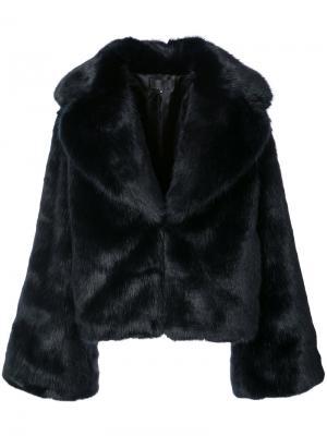 Приталенная куртка Nili Lotan. Цвет: синий