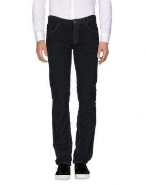 Повседневные брюки CELLAR DOOR. Цвет: темно-синий