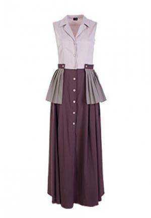Платье NOLO. Цвет: бежевый