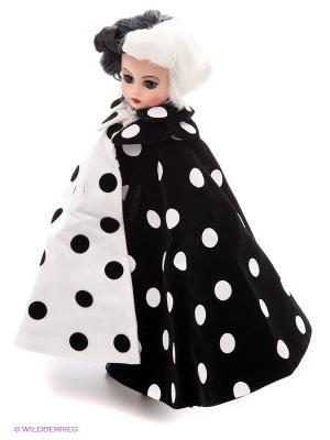 Кукла Круэлла де Виль Madame Alexander. Цвет: белый, черный