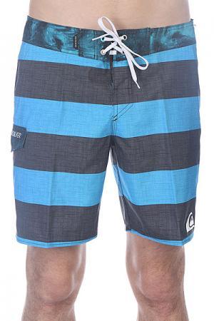 Шорты пляжные  Everyday Brigg Bdsh Hawaii Quiksilver. Цвет: черный,голубой