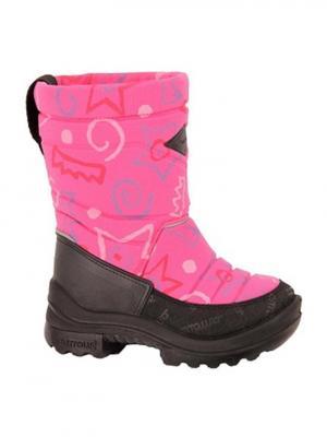 Сапоги KUOMA. Цвет: фиолетовый, розовый
