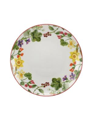 Набор тарелок  27см.(3шт.) Tognana porcelane. Цвет: белый
