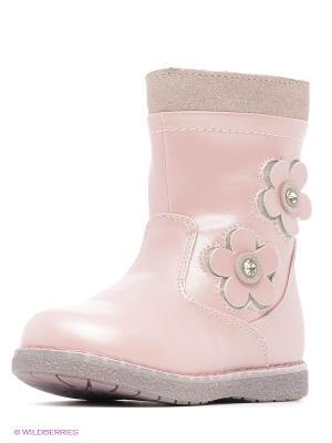 Полусапожки Flamingo. Цвет: розовый