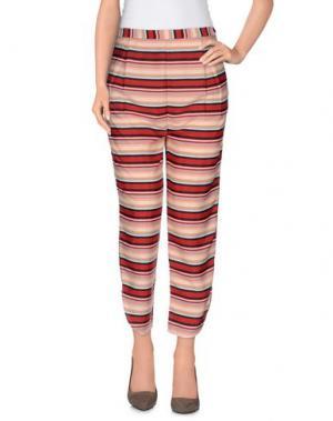 Повседневные брюки M!A F. Цвет: телесный