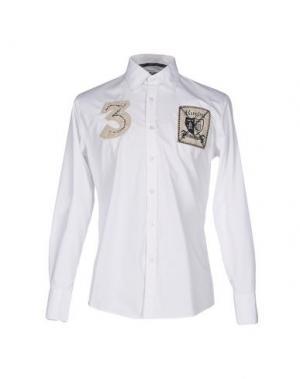 Pубашка BACI & ABBRACCI. Цвет: белый