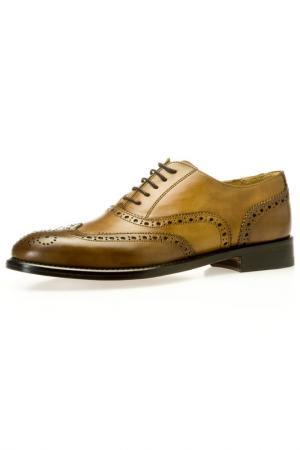 Туфли BELSIRE MILANO. Цвет: коричневый