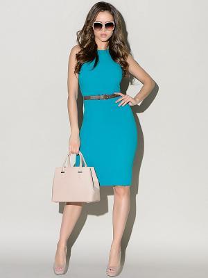 Платье Stets. Цвет: бирюзовый