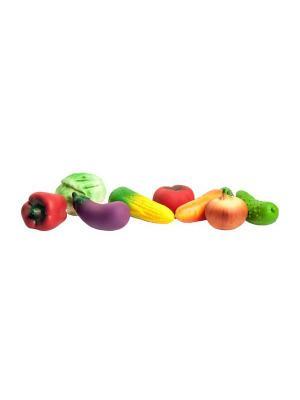 Набор овощей Огонек. Цвет: зеленый, белый, желтый